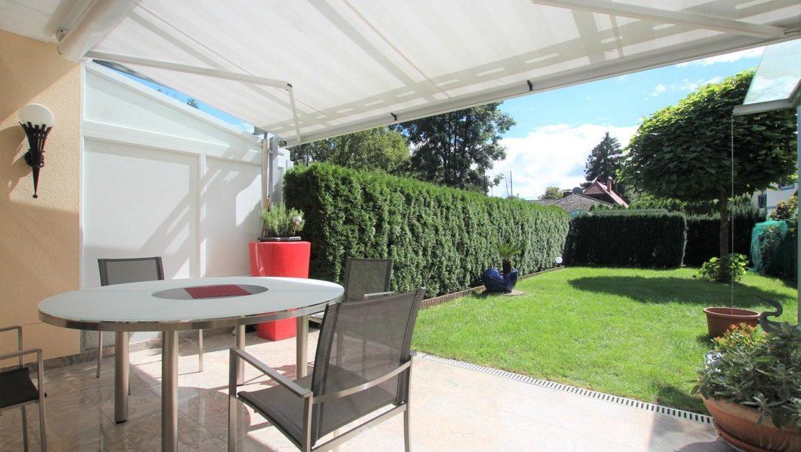 Terrasse & Grünbereich